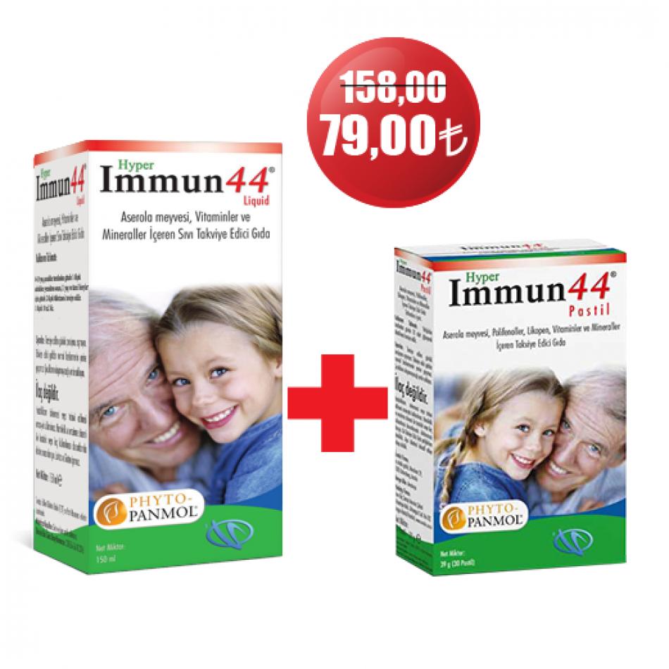 HYPER IMMUN44® LIQUID 150 ML + HYPER IMMUN44 PASTIL